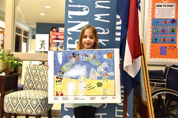 Bristol Student Wins Art Contest